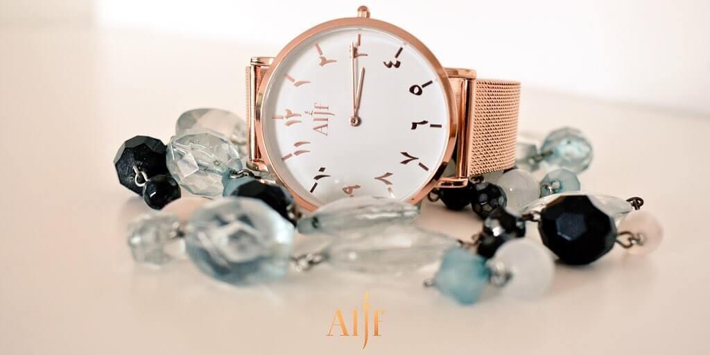 Alif Rose Gold